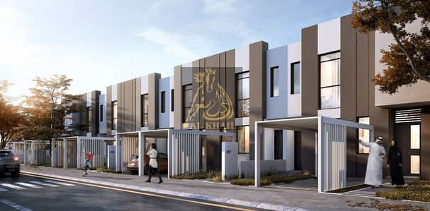 2 Bedroom Townhouse for Sale in Aljada, Sharjah - Only 5% Booking Fee! | 1% Monthly Installment| Magnificent 2BR Townhouse for sale in Aljada | Perfect Location!