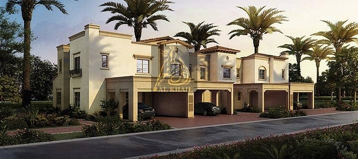 10 Perfect Investment! Elegant 3BR Townhouse in Reem Community -  High-end Amenities & Facilities