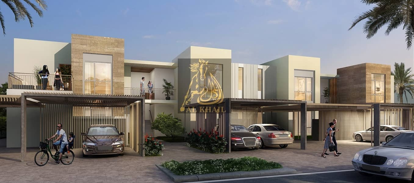 11 3-Bedrooms Stylish Townhome for sale in Dubai South | 10% Down Payment | Best Location!