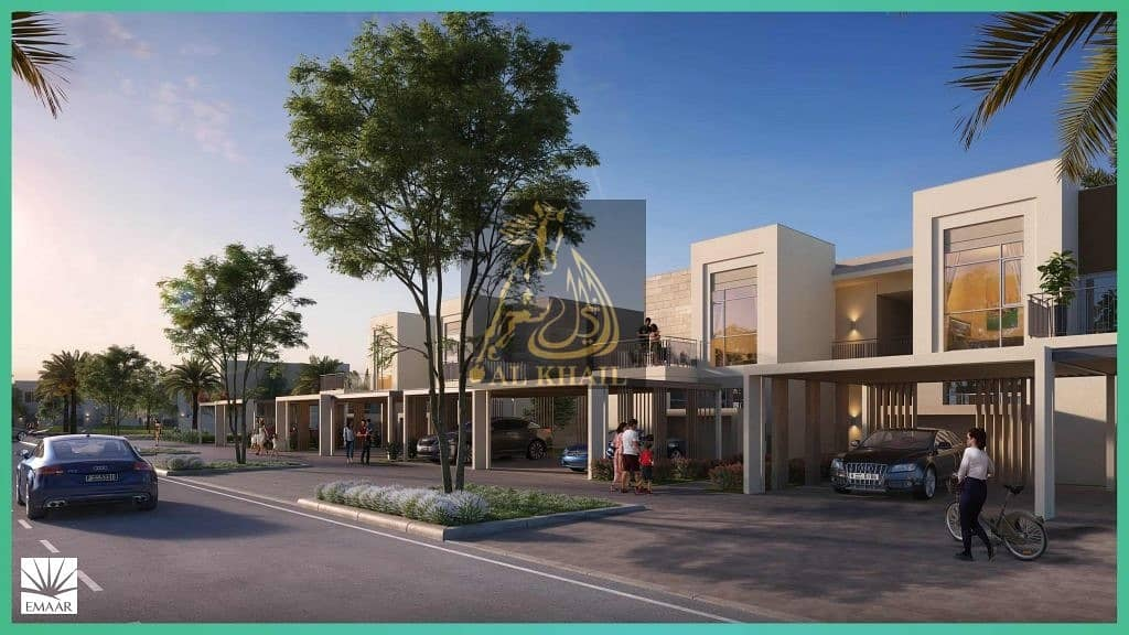 9 Perfect Location   Modern Style  2BR Townhomes in Dubai South - Easy Payment Plan  10% Booking!