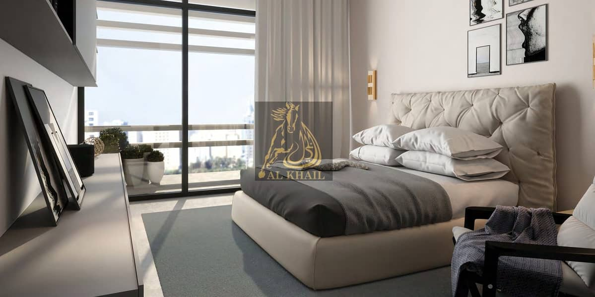Elegant 2BR Apartment for sale in Aljada Sharjah | Only 10% Booking Fee | Affordable Price | Perfect Location
