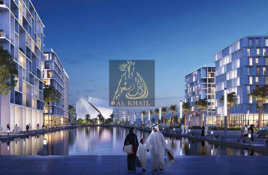 2 Elegant 2BR Apartment for sale in Aljada Sharjah | Only 10% Booking Fee | Affordable Price | Perfect Location