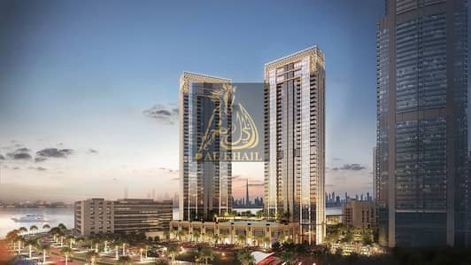 3 Bedroom Flat for Sale in The Lagoons, Dubai - On Easy Payment Plan  3BR Elegant Waterfront Apartment for sale in Dubai Creek Harbour