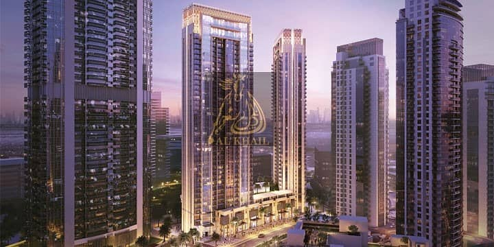 2 On Easy Payment Plan  3BR Elegant Waterfront Apartment for sale in Dubai Creek Harbour