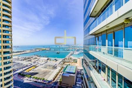 2 Bedroom Flat for Rent in Dubai Marina, Dubai - Sea View I Furnished 2 Bed I Ocean Heights
