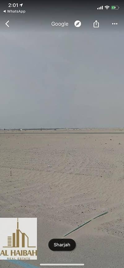 ارض سكنية  للبيع في حوشي، الشارقة - For sale two pieces of land in Alhooshi vs. Nouf very distinctive location
