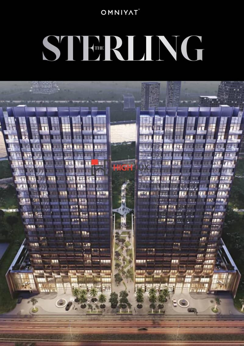 The Sterling East Luxury Apartments by Omniyat in Dubai's Heart Burj Khalifa Boulevard