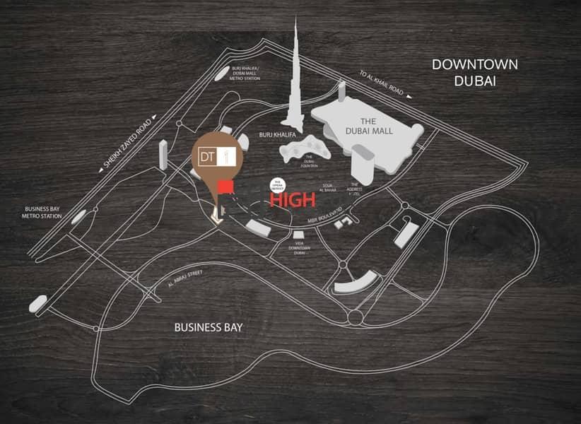 10 DT1 Luxury Apartment's in  Downtown Dubai
