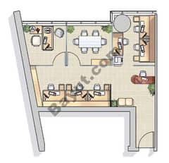 Office Layout (1,16)