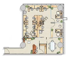 Office Layout (4,5,12,13)