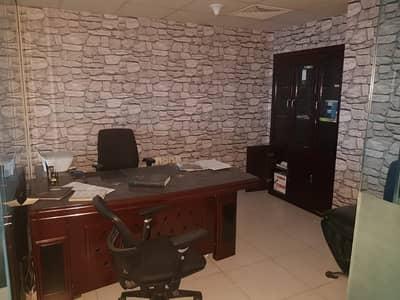 Office for Sale in Al Rashidiya, Ajman - Fully Furnished Office in Falcon tower Open Creek View