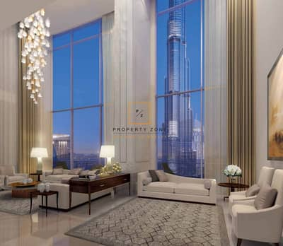 5 Bedroom Penthouse for Sale in Downtown Dubai, Dubai - Luxury 5 BR Triplex Penthouse in Burj Vista Tower 1