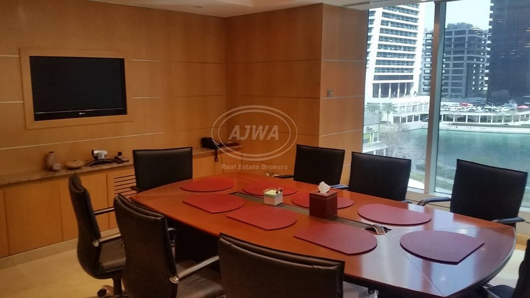 2 Saba Tower - Furnished office with full lake view