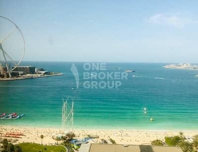 فلیٹ 2 غرفة نوم للبيع في مساكن شاطئ جميرا (JBR)، دبي - 2BR Breathtaking Sea View in Rimal