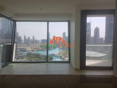 3 Bedroom Apartment for Rent in Downtown Dubai, Dubai - Spacious|Full Burj  and Fountain View|3.5 Comm