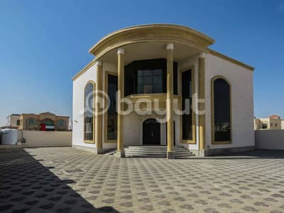 HUGE VILLA 5 MASTER BEDROOMS 2 HALL MAJLIS MAID ROOM &WASHING ROOM  SIZE 8