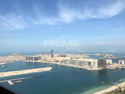 1 Bedroom Flat for Sale in Dubai Marina, Dubai - High Floor with Sea View 1Bedroom Apt