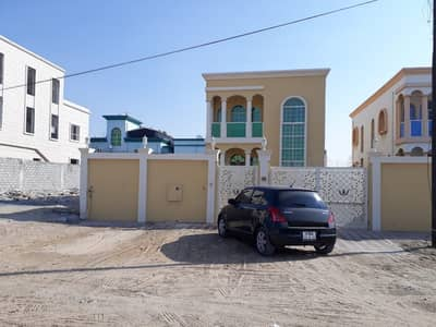 5 Bedroom Villa for Rent in Al Mowaihat, Ajman - Two-storey villa electricity citizen