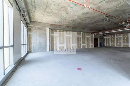 Office for Rent in Dubai Marina, Dubai - Shell and Core Office I DED I Mid Floor