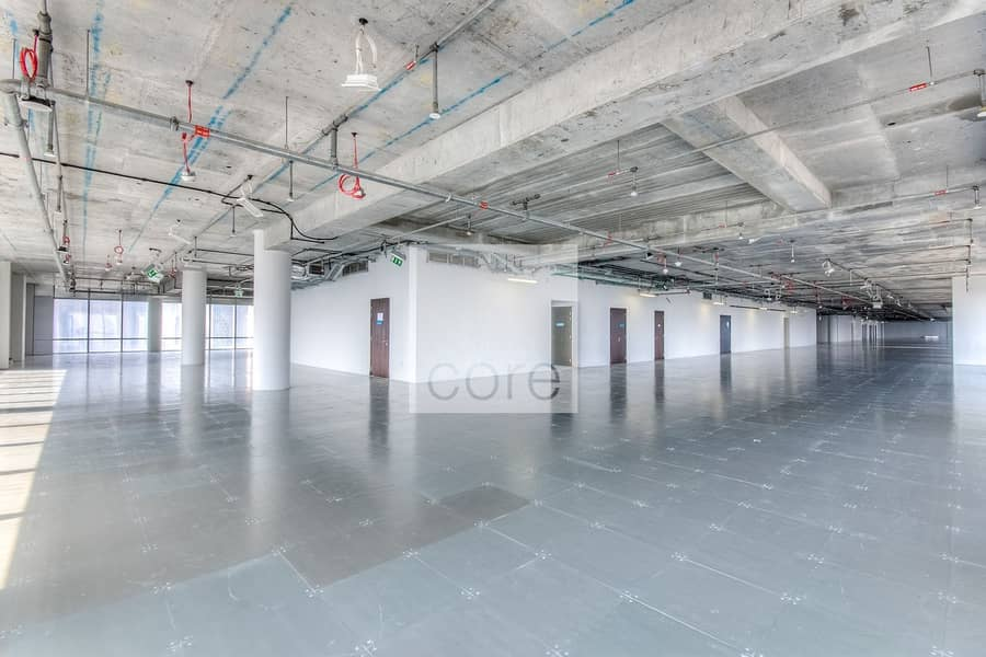 Ample parking semifitted office Burj Daman