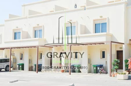 4 Bedroom Villa for Sale in Al Reef, Abu Dhabi - Corner Unit 4BR Double row villa w/ Study Room