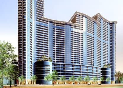 2 Bedroom Flat for Sale in Corniche Ajman, Ajman - MOVE IN THE MOST MODERN AND ELEGANCE TOWERS IN AJMAN WITH 10% DOWN PAYMENT