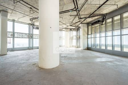 Available full office floor on a mid floor