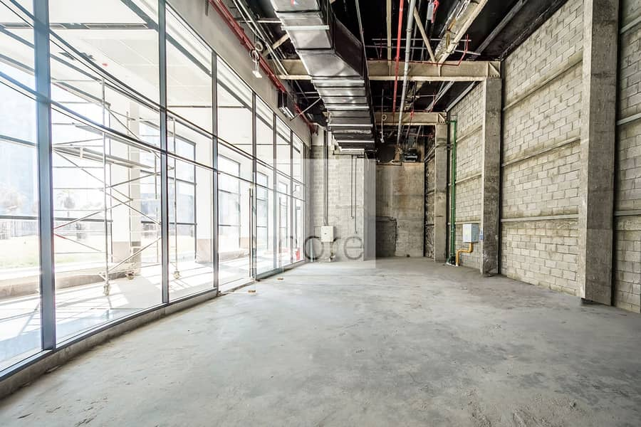 2 High Ceilings | Retail Space | Vacant