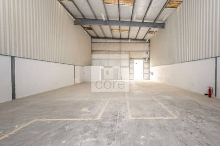 Warehouse for Rent in Dubai Investment Park (DIP), Dubai - Shell and core warehouse vacant | DIP 1