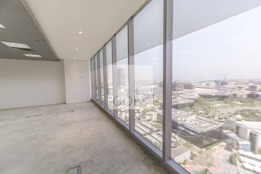 Half floor fitted office in Arenco Tower
