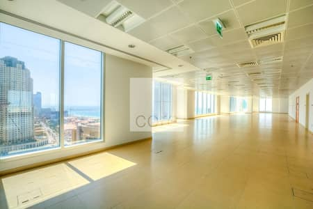 Office for Rent in Dubai Marina, Dubai - Mid Floor I Fitted Office I Vacant IRent