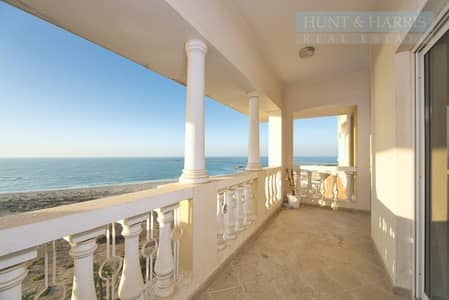 1 Bedroom Flat for Rent in Al Hamra Village, Ras Al Khaimah - Full Sea View with Big Balcony - Well Maintained