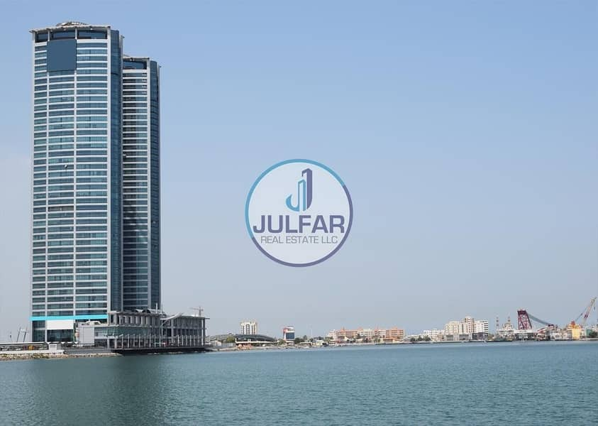 Delightful Office For Rent In Julphar Tower R.A.K.