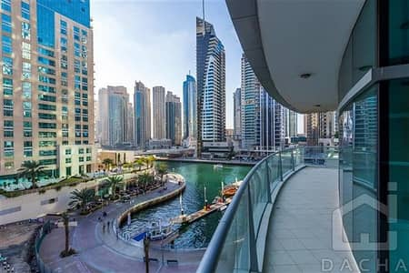 3 Bedroom Apartment for Rent in Dubai Marina, Dubai - Bright Apartment / Biggest lay out / Marina view