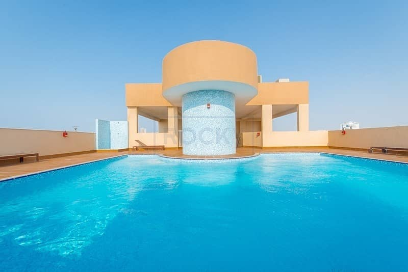 32 2  Bed | Swimming Pool & Gym |Central A/C | Al Mamzar