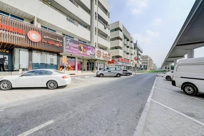 1 B/R Office with Central Split A/C  and Parking | Al Qusais