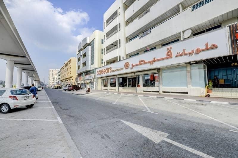 13 1 B/R Office with Central Split A/C  and Parking | Al Qusais