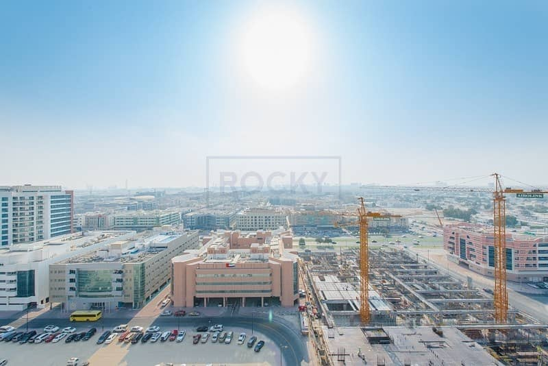 24 1 Bed | Swimming Pool & Gym |Central A/C | Al Mamzar