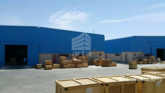 Warehouse for Rent in Dubai Industrial Park, Dubai - Bigger Plot  WareHouse   Dubai Industrial City  With Parking Spaces
