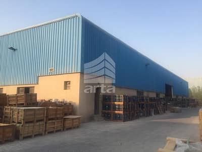 Warehouse for Rent in Dubai Industrial Park, Dubai - Huge Setup WareHouse   Dubai Industrial City  With Parking Spaces