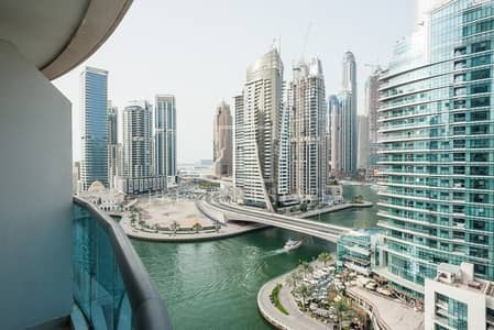 1 Bedroom Flat for Rent in Dubai Marina, Dubai - Furnished/Unfurnished 1BR with Marina View