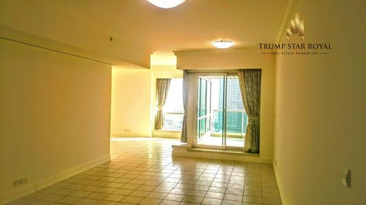 3 Bedroom Apartment for Rent in Dubai Marina, Dubai - Marina and Golf Course 3Br+M in Murjan