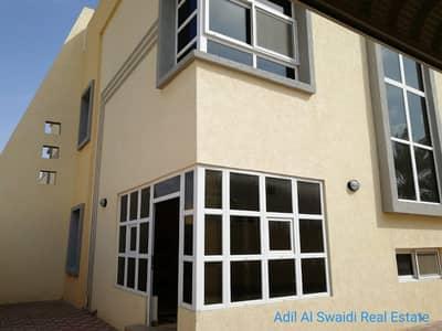4 Bedroom Villa for Rent in Al Jazzat, Sharjah - Br. New 4 BHK D/S Villa with big majlis, living dining, lawn, covd parking, split A/C in Jazzat area