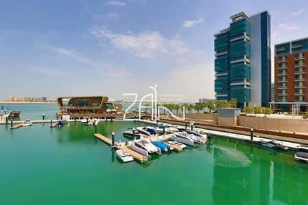Studio for Sale in Al Raha Beach, Abu Dhabi - Sea View Studio Apt with Big Rental Back