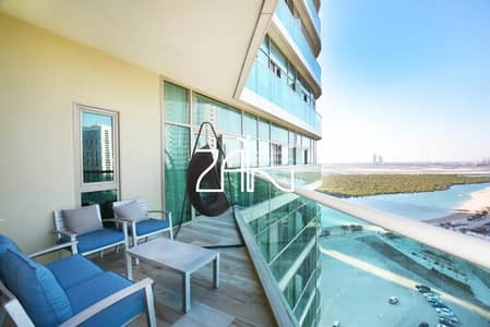 2 Bedroom Apartment for Sale in Al Reem Island, Abu Dhabi - Must View! Sea View 2+M Apt with Balcony