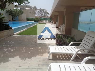 3 Bedroom Apartment for Rent in Al Khalidiyah, Abu Dhabi - Big Three bedrooms with state of art facilities near to corniche beach