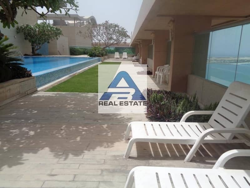 Big Three bedrooms with state of art facilities near to corniche beach