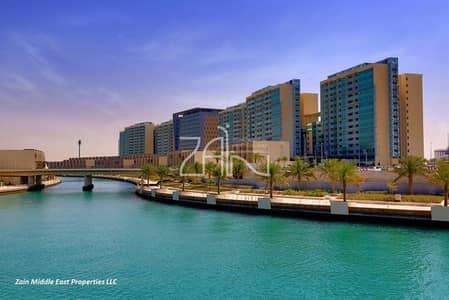 1 Bedroom Apartment for Sale in Al Raha Beach, Abu Dhabi - Hot Deal! High Floor 1 BR Apt Canal View