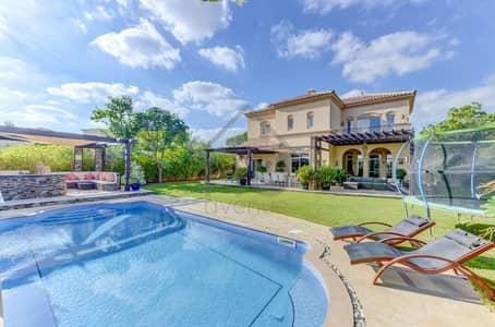 5 Bedroom Villa for Sale in Arabian Ranches, Dubai - Unique Golf Course villa in La Avenida