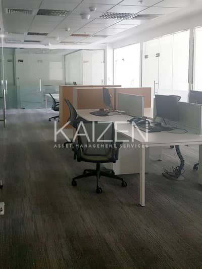 Office for Rent in Dubai Internet City, Dubai - Fully Fitted and Furnished Office Space in a Premium Building